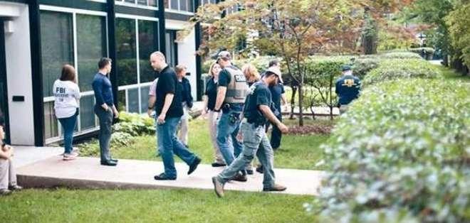 La policía encontró al menor tras una barricada de cajas en el sótano de su casa. Foto: Detroit Free Press.