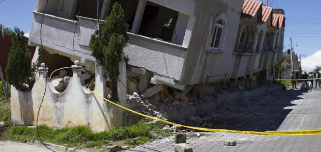 Se confirma un bebé muerto y 81 heridos en Guatemala por sismo. Foto: EFE