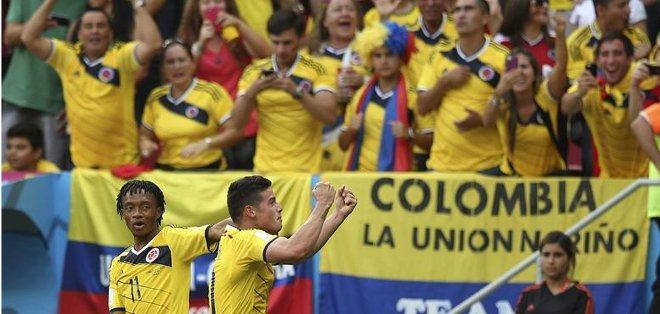 Aficionados colombianos quedaron endeudados. Foto: EFE.