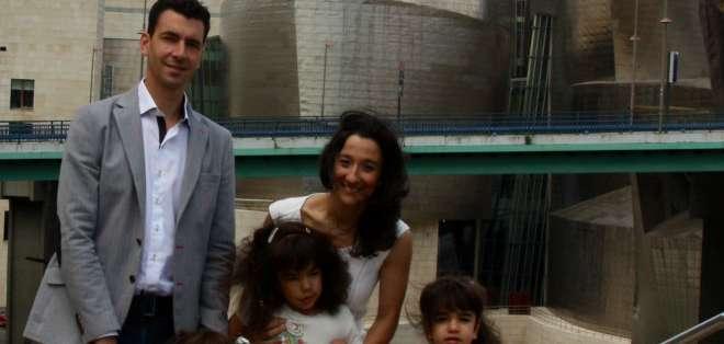 ESPAÑA.- Naiara García de Andoin relató la historia de su hija Araitz. Foto: BBCMundo.com