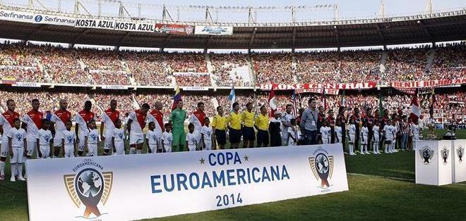 Junior y Mónaco, jugaron por la Copa Euroamericana (Foto: EFE)