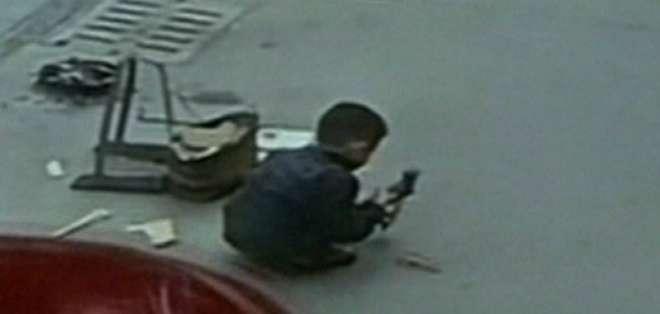 (VIDEO) El milagroso escape de un niño arrollado