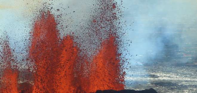 Hace 41 años, una erupción volcánica generó gran impacto, al enterrar en ceniza cientos de casas.