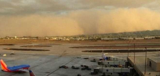Vea la impresionante tormenta de arena en Arizona.