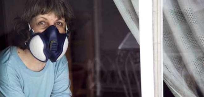 María José Moya sufre la sensibilidad química múltiple en un grado extremo.