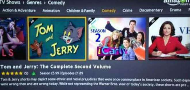 """""""Los cortos de Tom y Jerry pueden mostrar algunos prejuicios étnicos y raciales."""