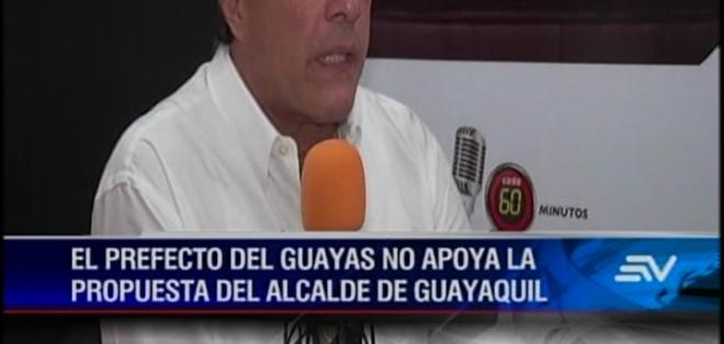 Según Jairala no se puede simplemente preguntar al pueblo guayaquileño si quieren dar dinero o no para obras.