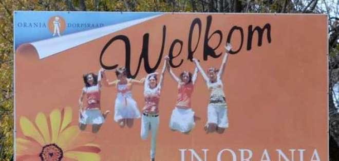 Orania es una ciudad de sólo blancos desde 1991, cuando se fundó. Foto: BBCMundo.com