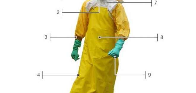 ¿Cómo es el traje especial contra el ébola?