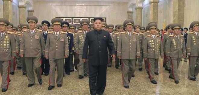 El líder norcoreano Kim Jong-un no se ha dejado ver en público desde el 3 de septiembre pasado.