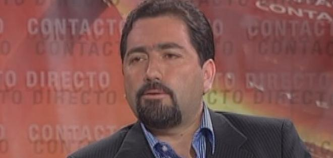 ECUADOR.- Ramiro Rivadeneira durante su entrevista en Contacto Directo. Foto: Ecuavisa