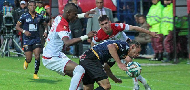 Independiente no pudo escapar en la tabla. Foto: API.