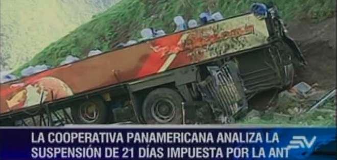Accidente no se debió a falla del conductor