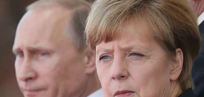 Durante la cumbre del G20 en Brisbane, Merkel sostuvo varias reuniones privadas con Putin.