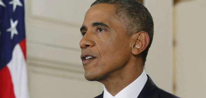 Obama anunció sus medidas en una alocución televisada.