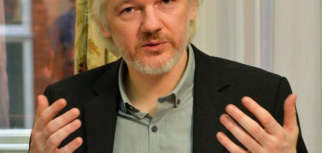 Ecuador ratifica asilo indefinido a Assange tras fallo de justicia sueca. Foto: AFP