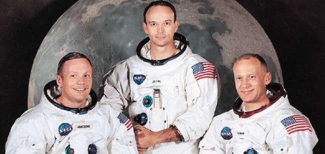 Neil Armstrong y Edwin Aldrin aseguraron que vieron un Objeto Volador No Identificado durante la misión Apolo XI.