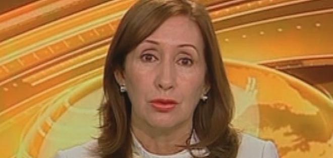ECUADOR.- Doris Soliz durante su entrevista en Contacto Directo. Foto: Ecuavisa