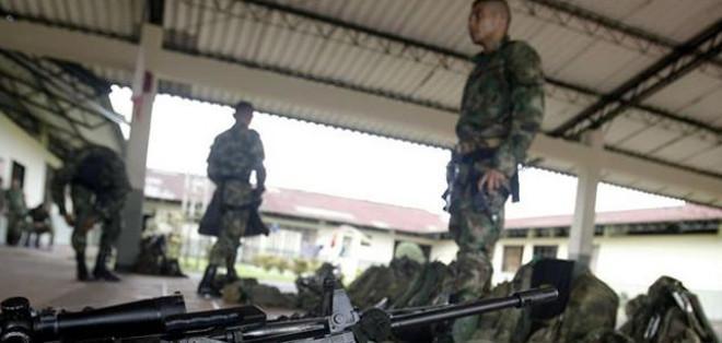 """""""No queremos riesgos de choques armados por la no observancia de los protocolos"""", señaló la guerrilla en un comunicado."""