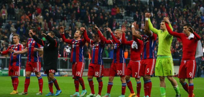 El Bayern de Múnich alcanzó ganancias por 528,7 millones de dólares.