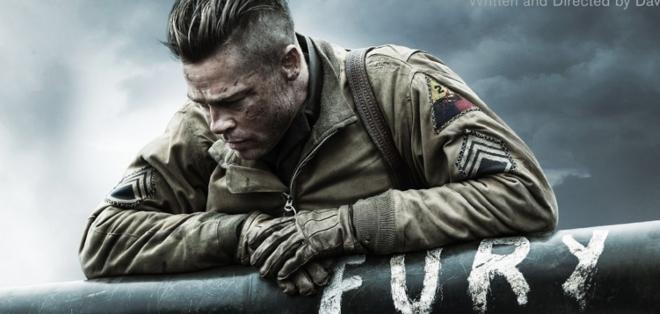 """""""Fury"""" (""""Corazones de acero""""), un drama bélico con Brad Pitt estrenado en octubre en EE.UU., a partir de enero llegará a España y Latinoamérica."""