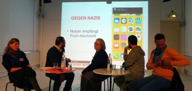 Cada usuario recibirá notificaciones sobre las acciones de grupos neonazis. Foto: AFP