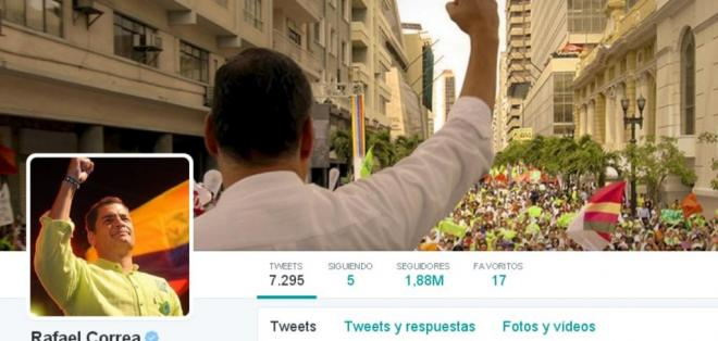 El primer mandatario compartió su opinión sobre el rendimiento de Emelec en Twitter.