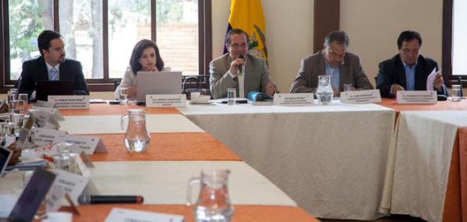 ECUADOR.- El canciller Ricardo Patiño dijo además que devolverán los USD 8,5 millones aportados por Alemania. Foto: Cancillería