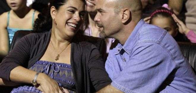 La esposa de un espía cubano preso consiguió su embarazo gracias a una inseminación artificial.
