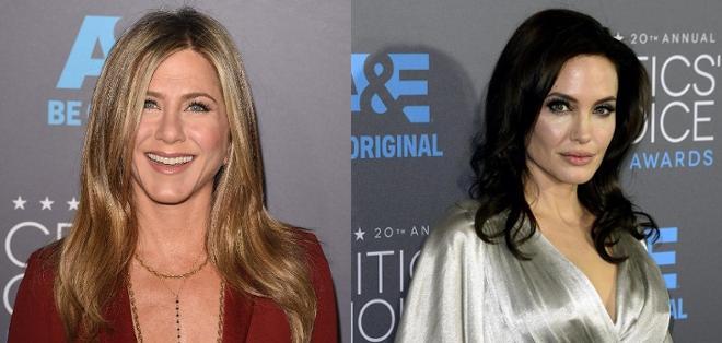 La ex de Brad Pitt no se había topado con la actual esposa del actor desde el año 2009.