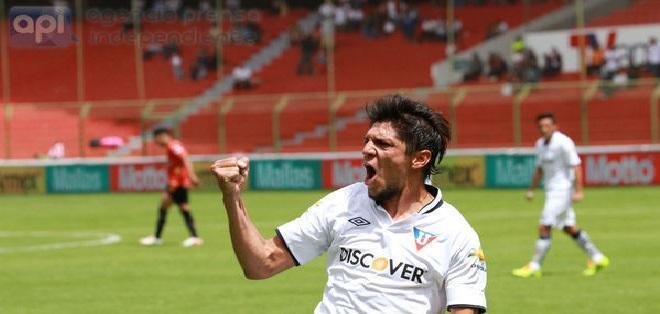 Enrique Vera tiene 38 años y llega procedente del Sportivo Luqueño de Paraguay. Foto: Archivo