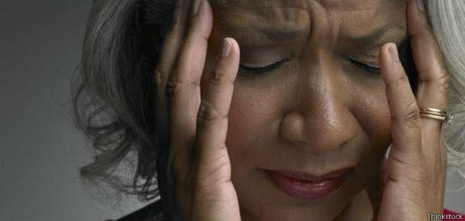 La migraña afecta a un 20% de las mujeres y a un 10% de los hombres.