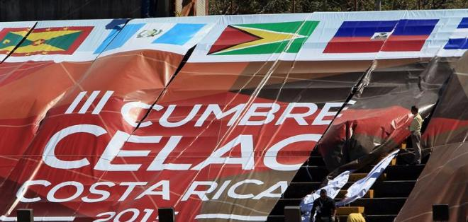 COSTA RICA.- La tercera cumbre de la CELAC estará enfocada en la lucha contra la pobreza, la inclusión social, la transparencia y la rendición de cuentas. Fotos: EFE