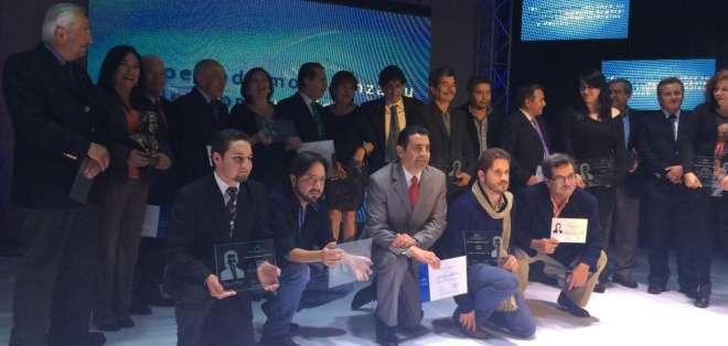 Galardonados en premios UNP 2014
