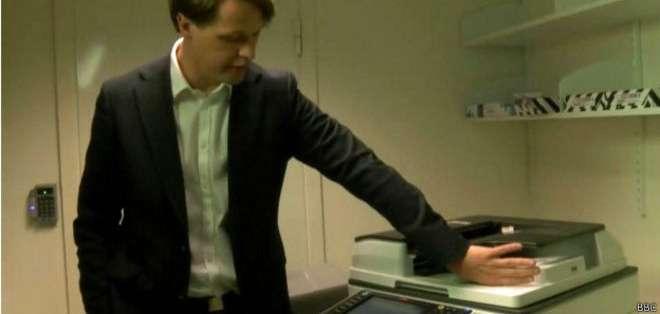 El chip puede utilizarse para hacer fotocopias o para abrir puertas.