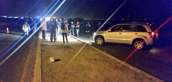 SANTA ELENA, Ecuador.- Esta noche continuará la reconstrucción de los hechos en el caso de la muerte de Sharon. Fotos: Fiscalía del Ecuador