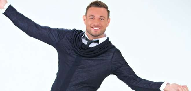 Agustín llegó a Ecuador como el animador del programa concurso que Ecuavisa está por estrenar, 'Yingo'.