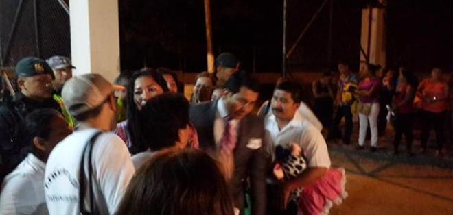 SANTA ELENA.- La acusada fue puesta en libertad la noche del viernes 13 de febrero. Foto: Twitter:@DrArguelloS