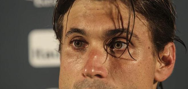 """BRASIL.- El tenista español dijo que """"ha sido difícil entrenar"""" en la ciudad brasileña, sobre todo de día. Fotos: EFE"""