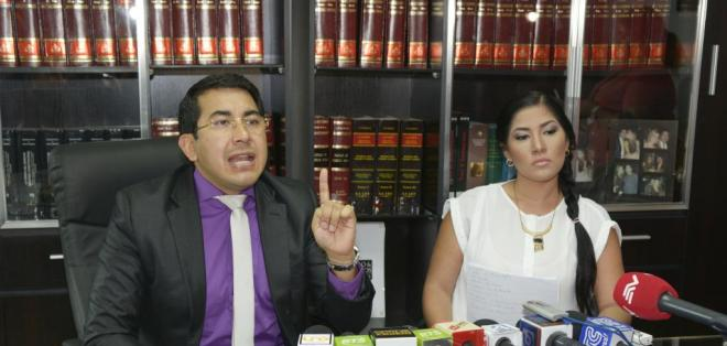 GUAYAQUIL.- Chávez fue inculpada de conducir el vehículo que arrolló a la artista.