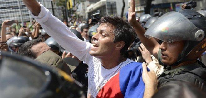 """VENEZUELA. López aseguró que se encuentra bien, """"fuerte espiritualmente y moralmente"""", aunque reconoció que """"no ha sido fácil"""" el año que lleva en prisión. Fotos: Archivo"""