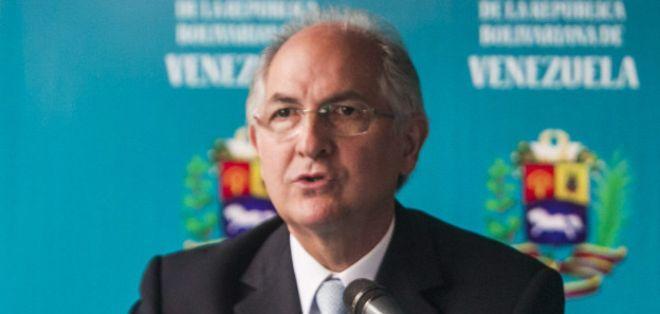El alcalde de Caracas, Antonio Ledezma, es uno de los más duros críticos de Nicolás Maduro.