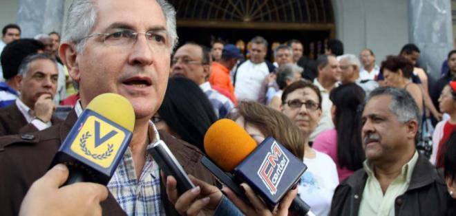 Antonio Ledezma fue acusado de incurrir en presuntos delitos de conspiración.