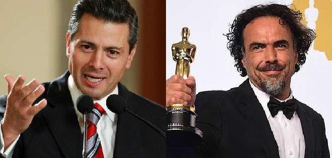 MÉXICO.- El presidente mexicano contestó a las críticas del premiado director.