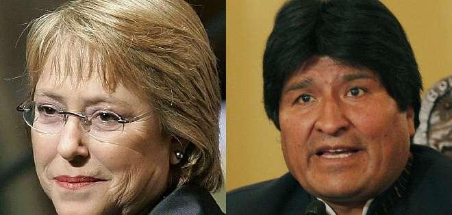CHILE.- Paralelo a este conflicto, Bolvia demandó a Chile para negociar una salida al mar.