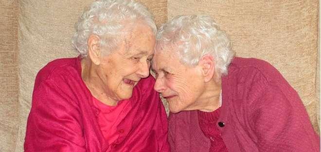 Como la mayoría de los gemelos, Florence Davies y Glenys Thomas se adoran la una a la otra.