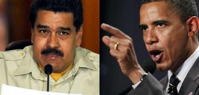 """VENEZUELA.- Nicolás Maduro llamó a Barack Obama a que """"ordene el caos"""" de su política hacia Venezuela."""