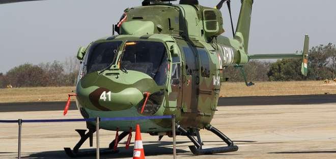 Las cajas negras enviadas corresponden a los dos últimos helicópteros accidentados. Foto referencial