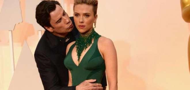 El actor estadounidense John Travolta fue uno de los presentadores de la entrega.