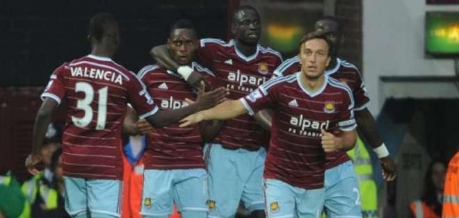 Hubo gritos antisemitas de aficionados del West Ham.